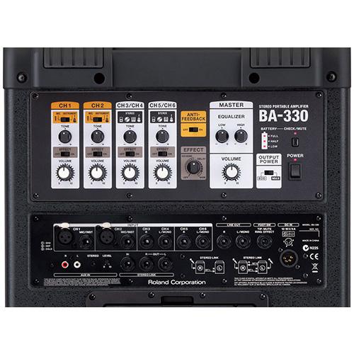 roland ba330 portable digital pa speaker system rh soundandvideorentals com Used Roland BA-330 Roland BA-330 Bag