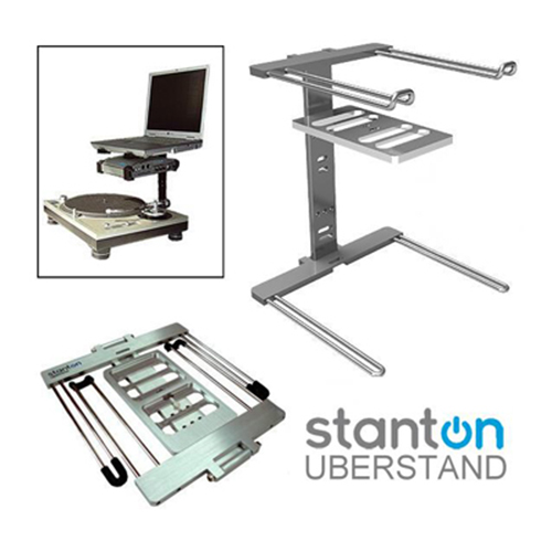 Stanton Uberstand Laptop Stand 171 Soundandvideorentals Com