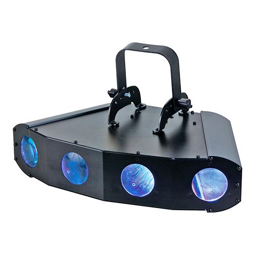 american dj quad gem led moonflower lighting soundandvideorentals com